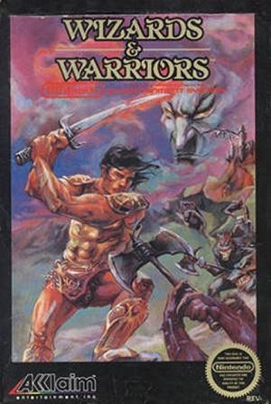 Wizards & Warriors sur Nes