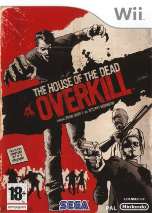The House of the Dead : Overkill sur Wii