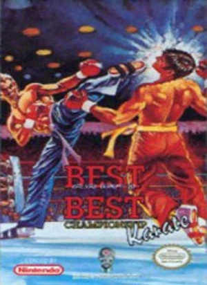 Best of the Best : Championship Karate sur Nes