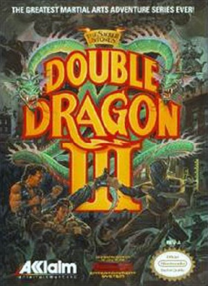 Double Dragon III : The Sacred Stones sur Nes