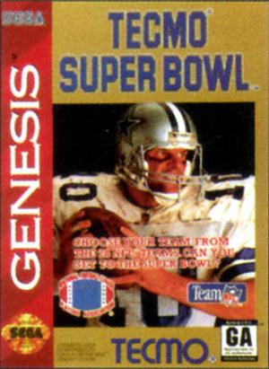 Tecmo Super Bowl sur MD