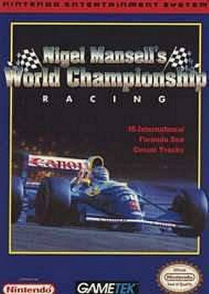 Nigel Mansell's World Championship sur Nes
