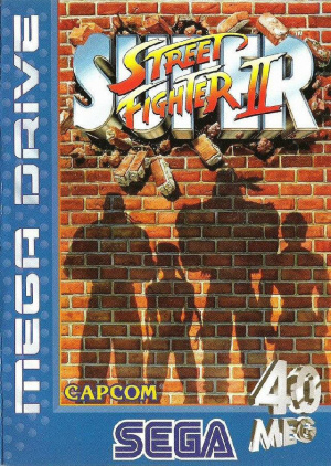 Super Street Fighter II : The New Challengers sur MD