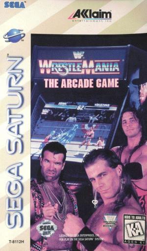 WWF Wrestlemania : The Arcade Game sur Saturn