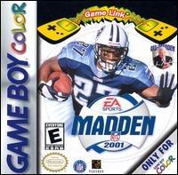 Madden NFL 2001 sur GB