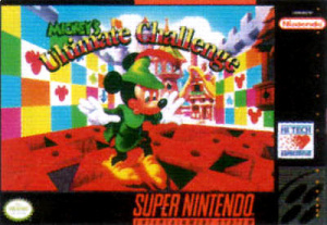 Mickey's Ultimate Challenge sur SNES