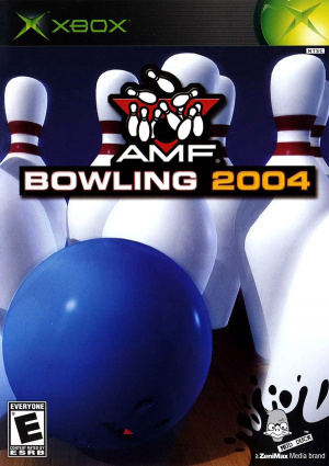 AMF Bowling 2004 sur Xbox