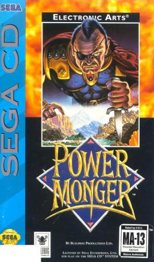 PowerMonger sur Mega-CD
