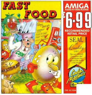 Fast Food sur Amiga