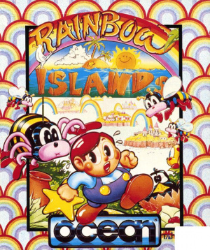Rainbow Islands sur Amiga