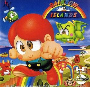 Rainbow Islands sur PC ENG