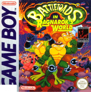 Battletoads in Ragnarok's World sur GB