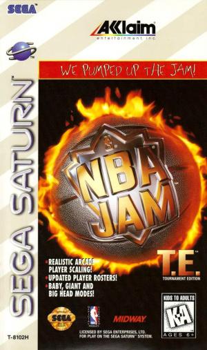 NBA Jam : Tournament Edition sur Saturn