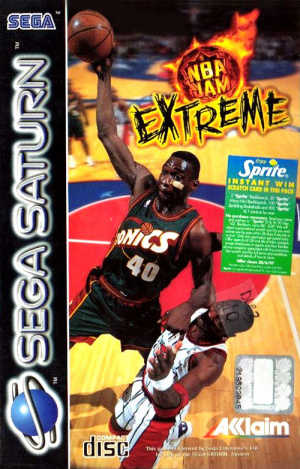 NBA Jam Extreme sur Saturn