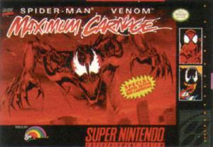 Spider-Man & Venom : Maximum Carnage sur SNES