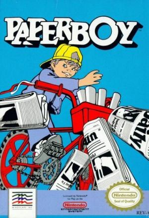 Paperboy sur Nes