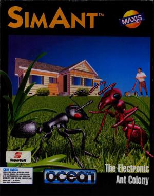 SimAnt sur Amiga