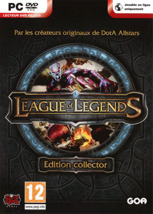 Jaquette de League of Legends