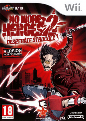 No More Heroes 2 : Desperate Struggle sur Wii