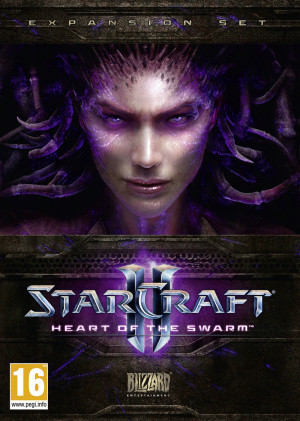 Jaquette de Starcraft II : Heart of the Swarm