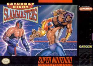 Saturday Night Slam Masters sur SNES
