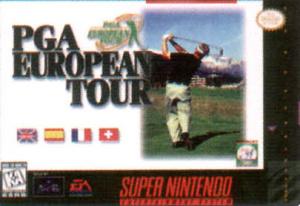 PGA European Tour sur SNES