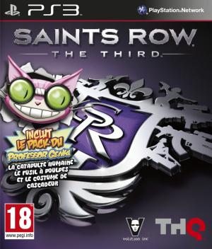 Saints Row : The Third sur PS3