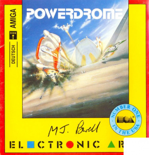Powerdrome sur Amiga