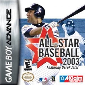 All-Star Baseball 2003 sur GBA