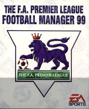The F.A. Premier League Football Manager 99 sur PC