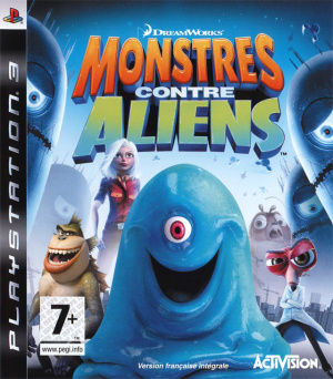 Monstres contre Aliens sur PS3