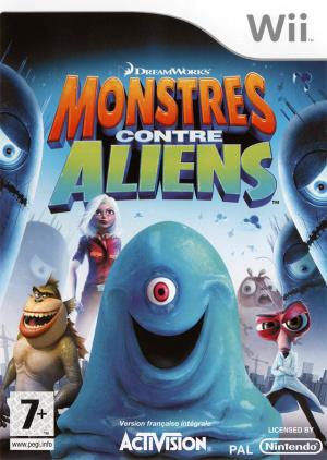 Monstres contre Aliens sur Wii