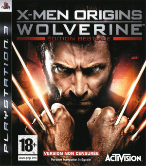 X-Men Origins : Wolverine sur PS3