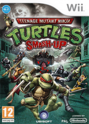 Teenage Mutant Ninja Turtles : Smash-Up sur Wii