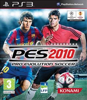Pro Evolution Soccer 2010 sur PS3