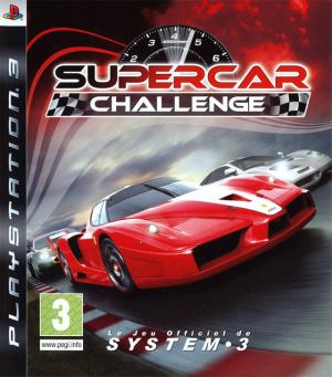 SuperCar Challenge sur PS3