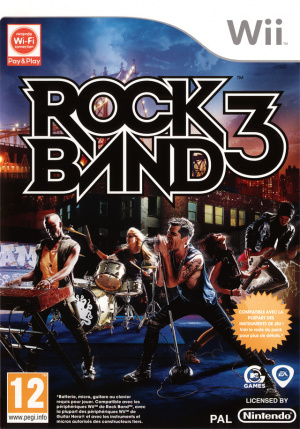 Rock Band 3 sur Wii