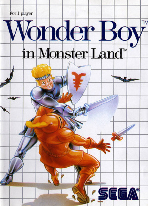 Wonder Boy in Monster Land sur MS