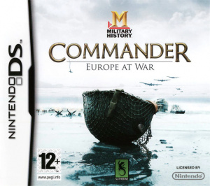 Military History : Commander : Europe at War sur DS
