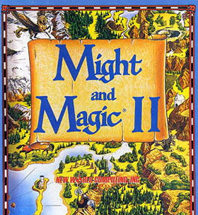 Might and Magic II : Gates to Another World sur Mac