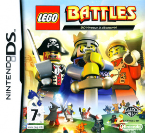 lego battles sur nintendo ds. Black Bedroom Furniture Sets. Home Design Ideas