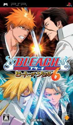 Bleach : Heat the Soul 6 sur PSP