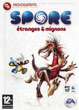 Spore : Pack d'Eléments Etranges & Mignons sur Mac