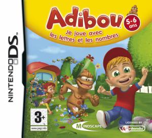 Adibou : Je Joue avec les Lettres et les Nombres sur DS