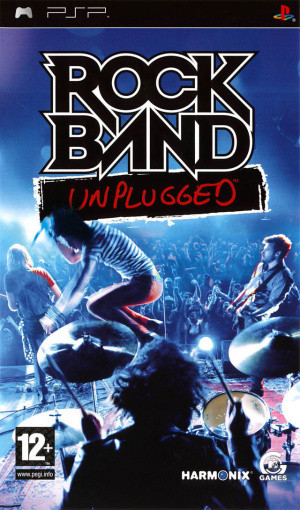 Rock Band Unplugged sur PSP