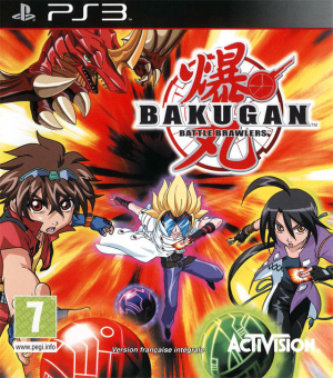 Bakugan Battle Brawlers sur PS3