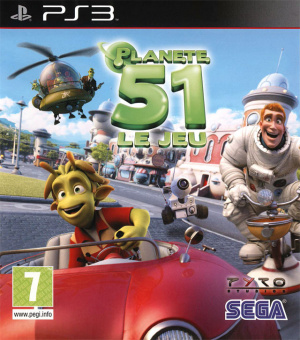 Planète 51 sur PS3