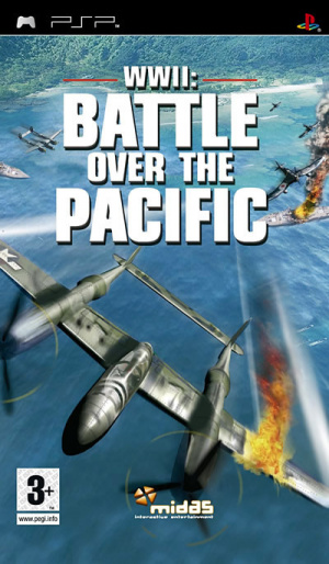 WWII : Battle over the Pacific sur PSP