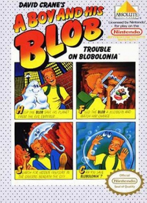 A Boy and his Blob : Trouble on Blobolonia sur Nes