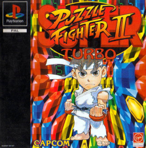 Super Puzzle Fighter II Turbo sur PS1